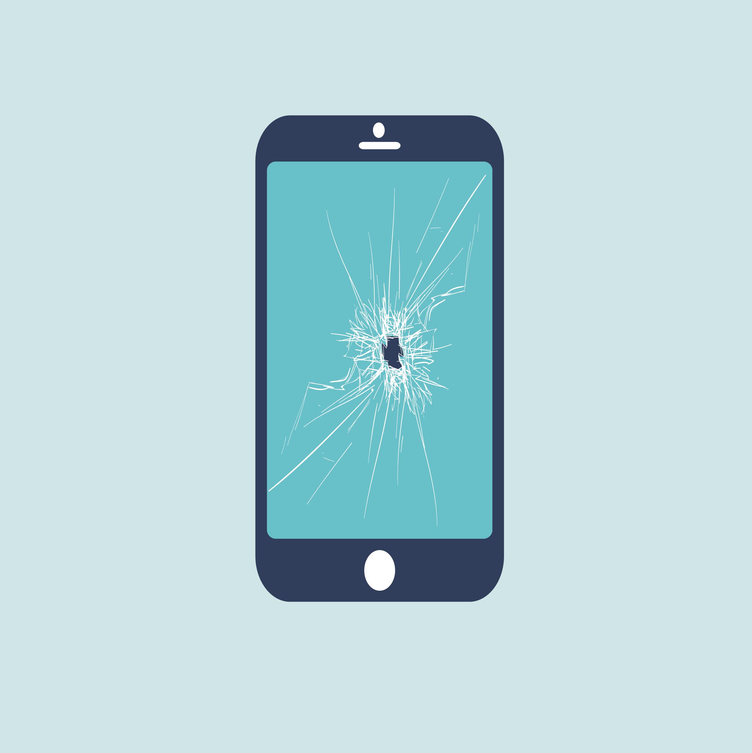 broken phone screen repair near me